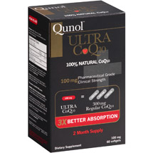Qunol Ultra CoQ10 Dietary Supplement Softgels