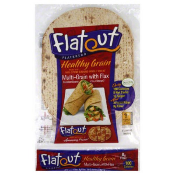 Flatout MultiGrain with Flax Flatbread