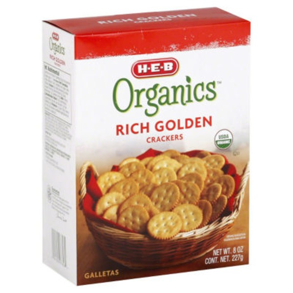 H-E-B Rich Golden Crackers