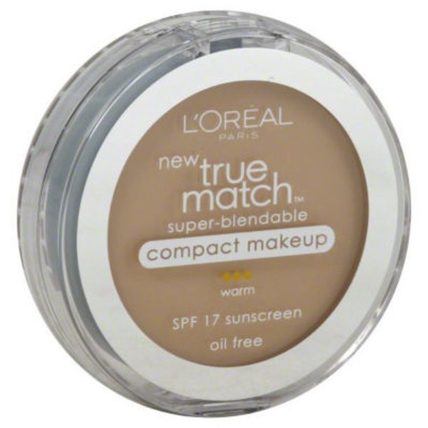 True Match Warm Porcelain W1 Super-Blendable Makeup Compact