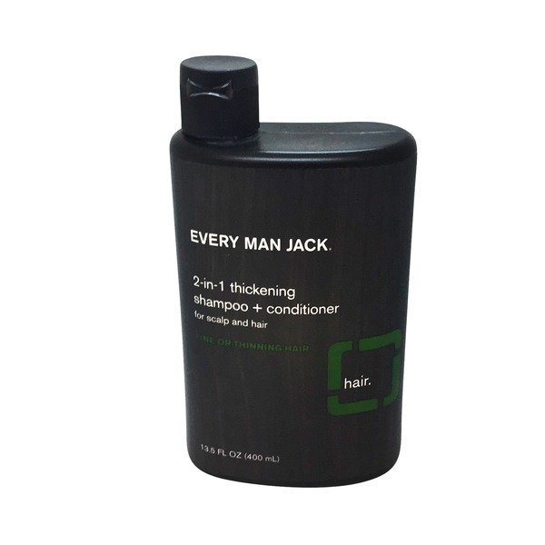 Every Man Jack 2 In 1 Thickening Shampoo & Conditioner