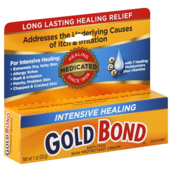 Gold Bond Anti-Itch Cream Intensive Healing