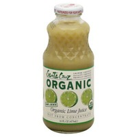 Santa Cruz Organic Pure Lime Juice
