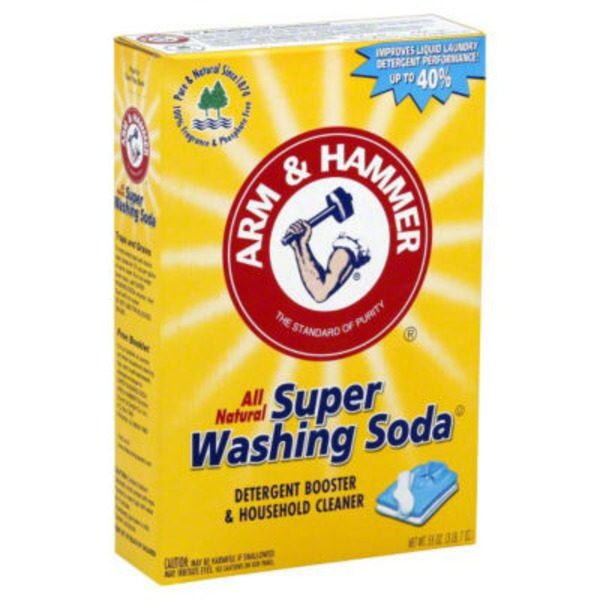 Arm & Hammer Super Washing Soda Detergent Booster & Household Cleaner