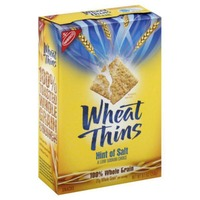 Wheat Thins Crackers, Hint Of Salt Flavor