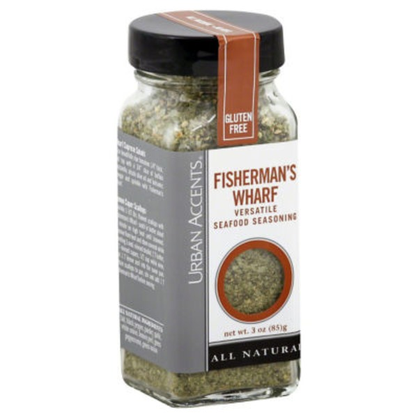 Urban Accents Fisherman's Wharf Seafood Seasoning