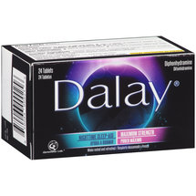 Dalay Maximum Strength Nighttime Sleep Aid Tablets