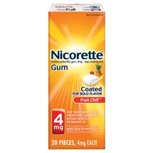 Nicorette Gum Fruit Chill - 20ct