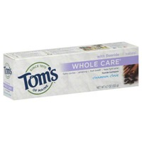 Tom's of Maine Whole Care Natural Cinnamon Clove Fluoride Toothpaste
