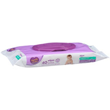 Parent's Choice Unscented Flip-Top Baby Wipes Travel pk