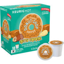 The Original Donut Shop Coffee Nutty Caramel K-Cups 18 ct