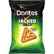 Doritos Jacked 3D Jalapeno Pepper Jack Flavored Tortilla Snacks