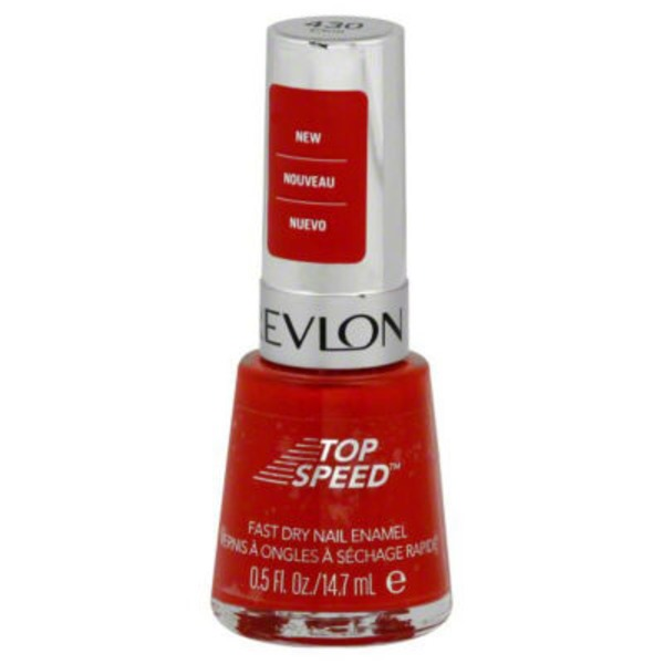 Revlon Top Speed Nail Enamel - Chili 430