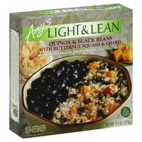 Amy's Light & Lean Quinoa & Black Beans With Butternut Squash & Chard