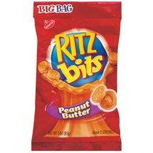 Nabisco Ritz Bits Peanut Butter Cracker Sandwiches