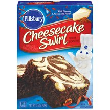 Pillsbury Fudge Supreme Cheesecake Swirl Brownie Mix