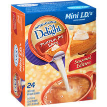 International Delight Pumpkin Pie Spice Mini I.D.'s Coffee Creamer