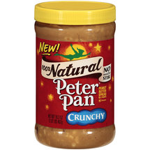 Peter Pan 100% Natural Crunchy Peanut Butter Spread