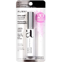Almay One Coat Nourishing Thickening Mascara 401 Blackest Black
