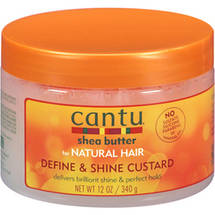 Cantu Shea Butter for Natural Define & Shine Custard