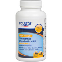 Equate Glucosamine Chondroitin MSM Dietary Supplement