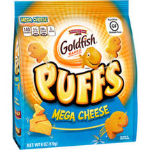 Pepperidge Farm Goldfish Puffs Mega Cheese Baked Puffed Snacks