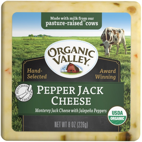Organic Valley Pepper Jack Cheese