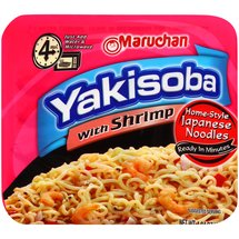 Maruchan Yakisoba Noodles with Shrimp