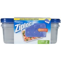 Ziploc One Press Seal Large Rectangle Containers