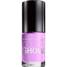 Maybelline Color Show Nail Lacquer Lust For Lilac