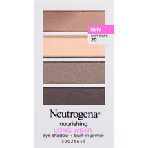 Neutrogena Nourishing Long Wear Eye Shadow + Built-In Primer Soft Taupe 20
