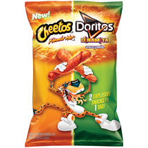 Cheetos Flamin' Hot & Doritos Dinamita Chile Limon Snacks and Tortilla Chips