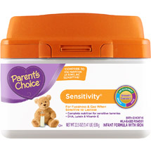 Parent's Choice Sensitivity Infant Formula with Iron