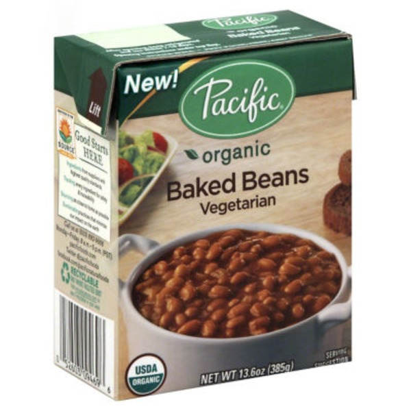 Pacific Vegetarian Organic Baked Beans