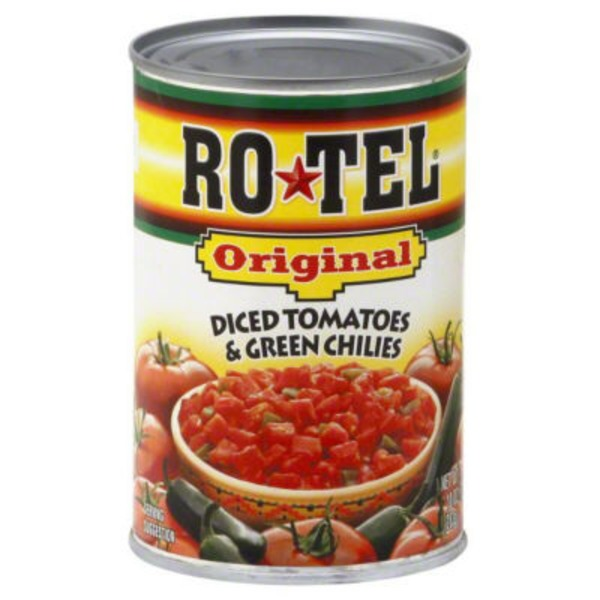 Ro-tel Rotel Original Diced Tomatoes & Green Chilies