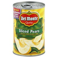 Del Monte Sliced Bartlett Pears in Heavy Syrup