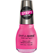 SinfulColors SinfulShine Step 1 Color Nail Color Come Hither