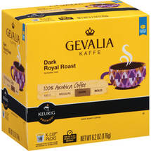 Gevalia Dark Royal Roast Coffee K-Cups