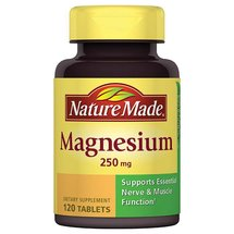 Nature Made Magnesium Dietary Supplement Tablets