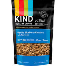 KIND Healthy Grains Clusters Vanilla Blueberry Clusters with Flax Seeds