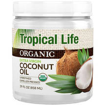 Tropical Life Organic Extra Virgin Coconut Oil