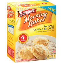 Banquet Morning Bakes Sausage Gravy & Biscuits Mix