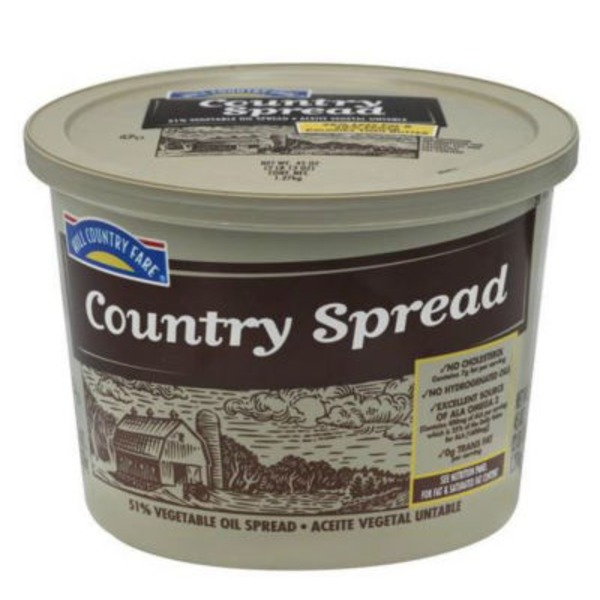 Hill Country Fare Soft Country Margarine Spread