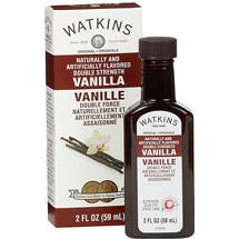 Watkins Double Strength Artificially Flavored Vanilla Baking Extract