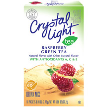 Crystal Light On The Go Antioxidant Raspberry Green Tea Drink Mix