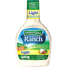 Hidden Valley Original Ranch Light Dressing 24 Fluid Ounce Bottle
