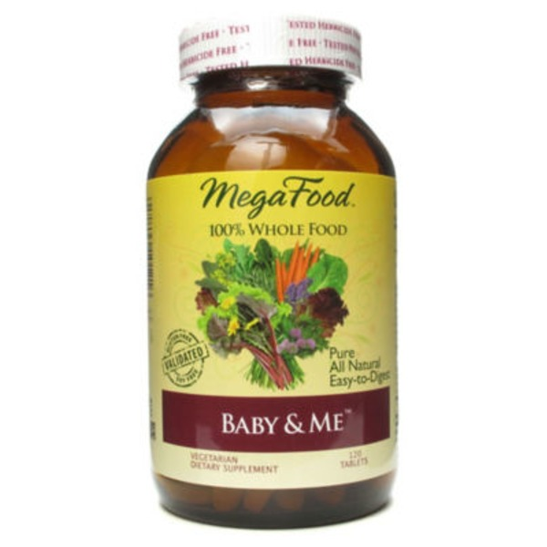 MegaFood Baby & Me Tablets