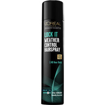 L'Oreal Paris Advanced Hairstyle Lock It Weather Control Hairspray