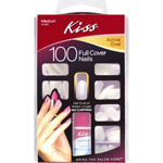 Kiss Full Cover Active Oval Medium Nail Kit