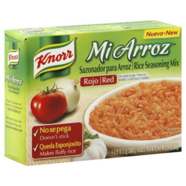 Knorr Miarr Seasng Mix Red Rice Savoury Sauce